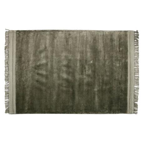 BePureHome Tapis Ravel textile vert 170x240cm