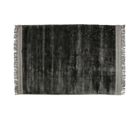 BePureHome Tapis Ravel gris textile 170x240cm