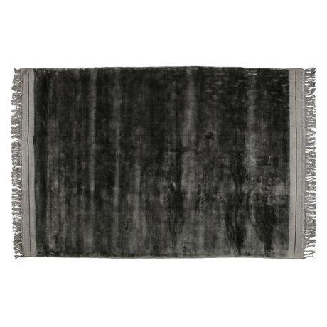 BePureHome Teppich Ravel graues Textil 170x240cm