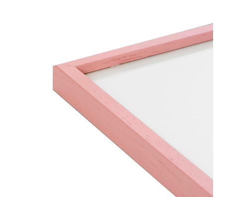 Paper Collective Fotolijst Frame Pink roze hout 30x40cm
