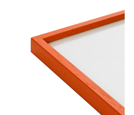 Paper Collective Photo frame Frame Orange orange wood 50x70cm