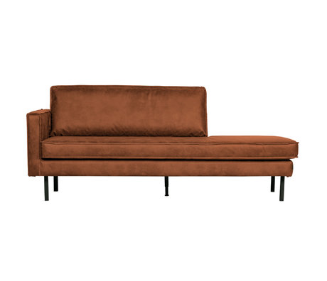 BePureHome Rodeo Daybed Left Cognac