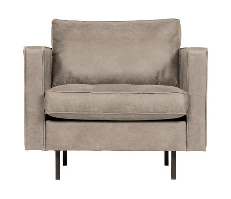 BePureHome Rodeo Classic Fauteuil Elephant Skin