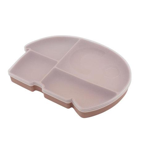 Sebra Lunch box Fanto the elephant powder pink silecone 25x18.5x3cm