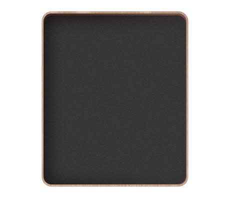 Sebra Schoolbord Oakee blackboard met eiken frame 90x8x75cm