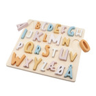 Sebra Puzzle ABC Süßigkeiten rosa Holz 30x30x3cm