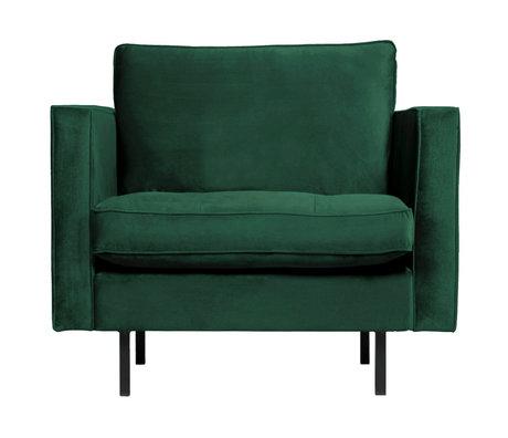BePureHome Fauteuil Rodeo Classic groen fluweel 98x88x83cm
