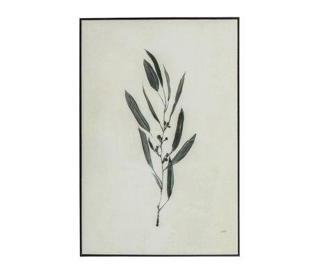 WOOOD Yaro Kunstlijst Zwart