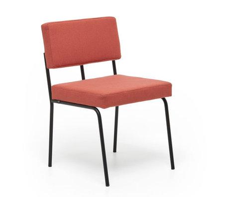 FÉST Dining room chair Monday coral pink Kvadrat Hero 541 50 / 56x55x78cm