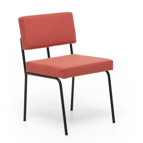 FÉST Chaise de salle à manger Monday rose corail Kvadrat Hero 541 50 / 56x55x78cm