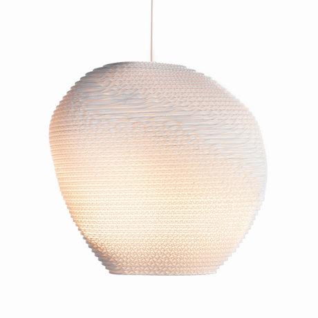 Graypants Hanglamp Allyn wit karton Ø36x32cm
