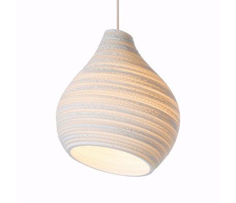 Graypants Hanglamp Hive12 wit karton Ø30x36cm