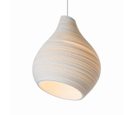 Graypants Hanglamp Hive15 wit karton Ø38X46cm