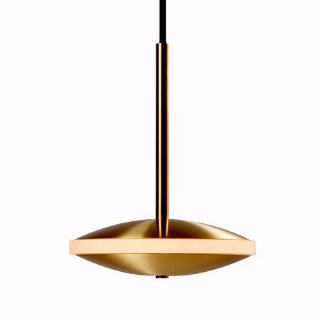Graypants Hanglamp Dish6h goud messing Ø14X18cm