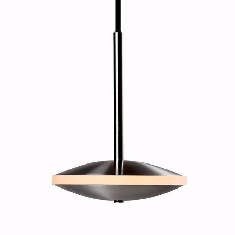 Graypants Hanglamp Dish6h zilver staal Ø14x18cm