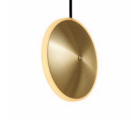 Graypants Hanglamp Dish6v goud messing Ø14x5cm