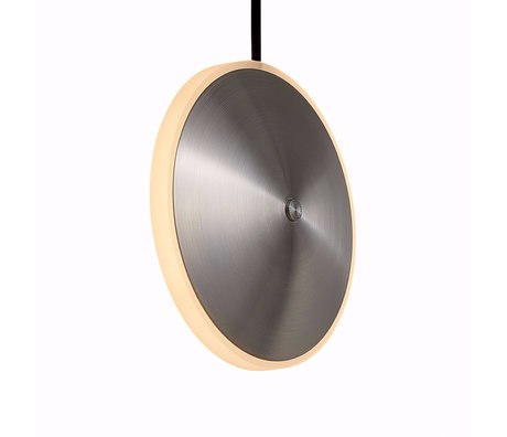 Graypants Hanglamp Dish6v zilver staal Ø14x5cm