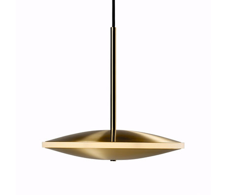 Graypants Hanglamp Dish10h goud messing Ø24x23cm