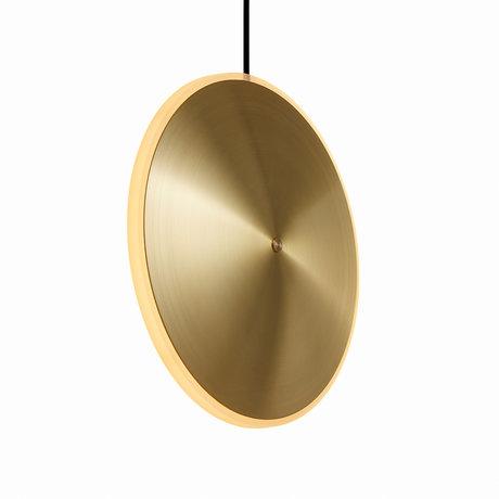 Graypants Hanglamp Dish10v goud messing Ø24x6cm