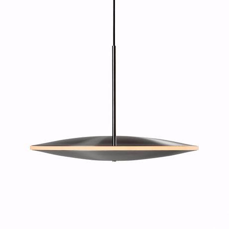 Graypants Hanglamp Dish17h zilver staal Ø42x29cm
