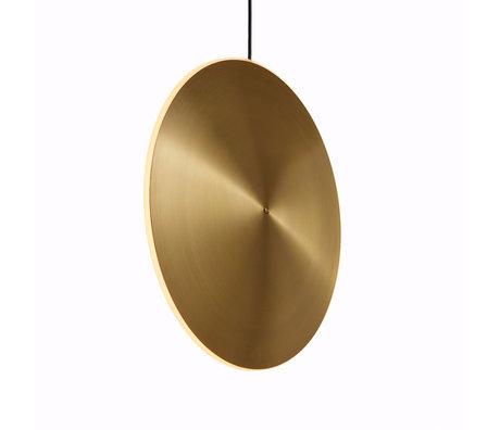 Graypants Hanglamp Dish17v goud messing Ø42x7cm