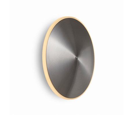 Graypants Wandlamp Sconce10 zilver staal Ø24x23cm