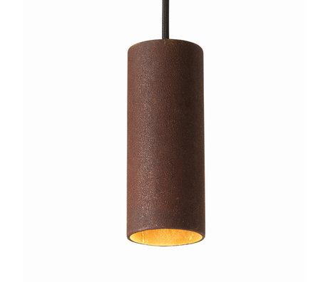 Graypants Hanglamp 15v roestbruin staal Ø6x15cm