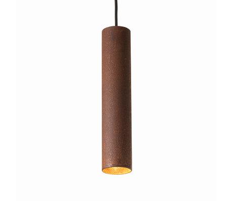 Graypants Hanglamp 30v roestbruin staal Ø6x30cm