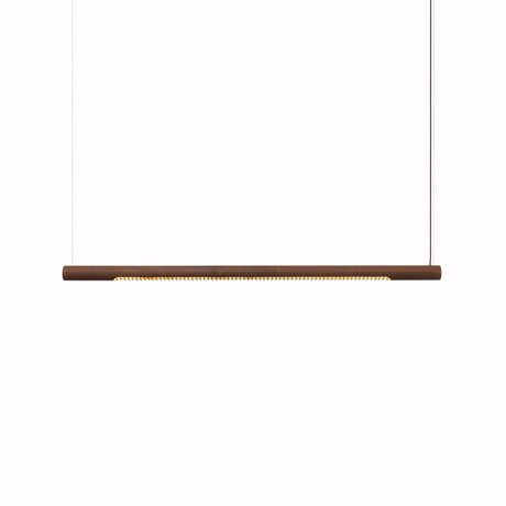 Graypants Hanglamp 150h roestbruin staal Ø6x150cm