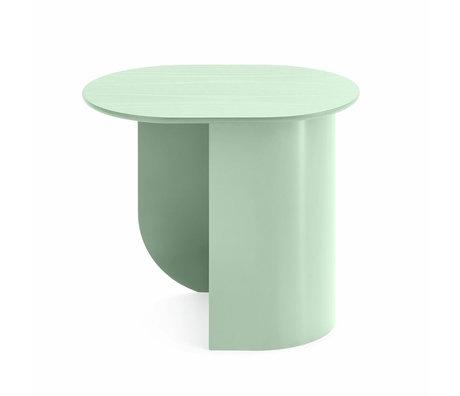 FÉST Table d'appoint Plateau vert menthe bois métal 44x32x40cm