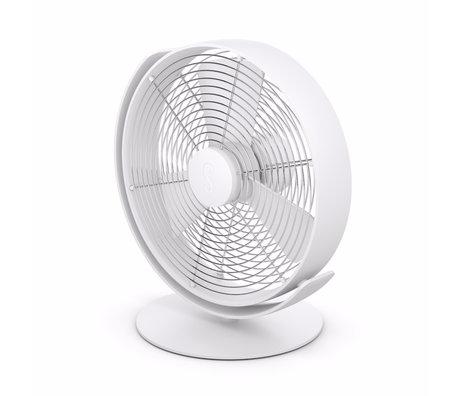 Stadler Form Ventilator Tim wit aluminium 26,7x18,9x28,5cm