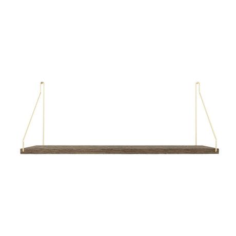 Frama Wandplank Shelf Donker goud hout 27x60x16cm