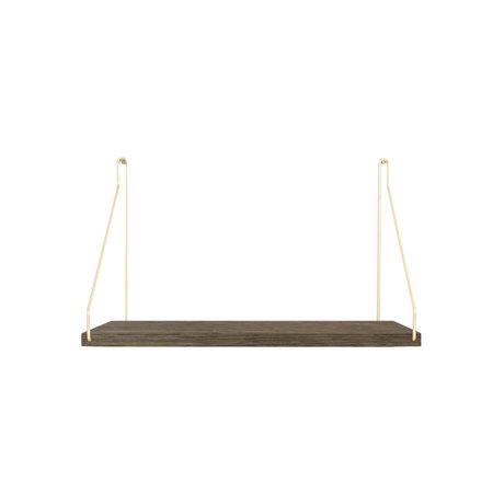 Frama Wandplank Shelf Donker goud hout 27x40x16cm