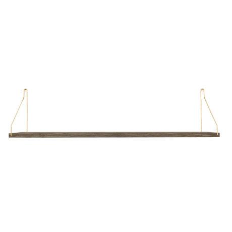 Frama Wandplank Shelf Donker goud hout 20x80x16cm