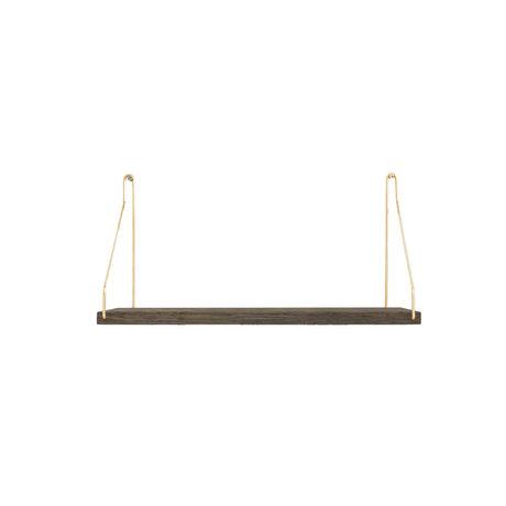 Frama Wandplank Shelf Donker goud hout 20x40x16cm