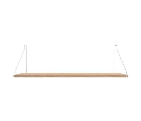 Frama Wandplank Shelf Wit roestvrij staal 27x80x16cm