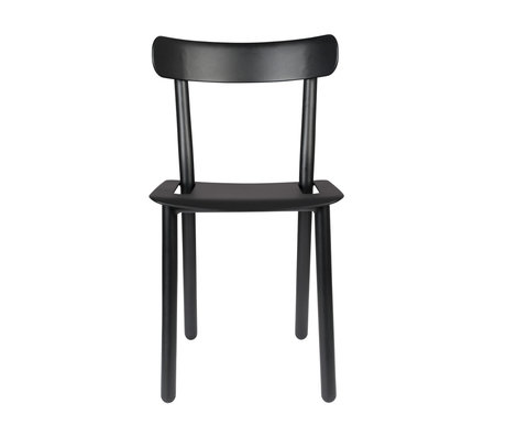 Zuiver Garden chair Friday black aluminum 51x46x82cm