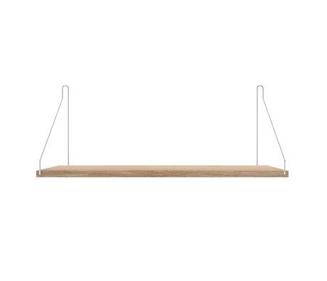 Frama Wandplank Shelf Wit roestvrij staal 27x60x16cm