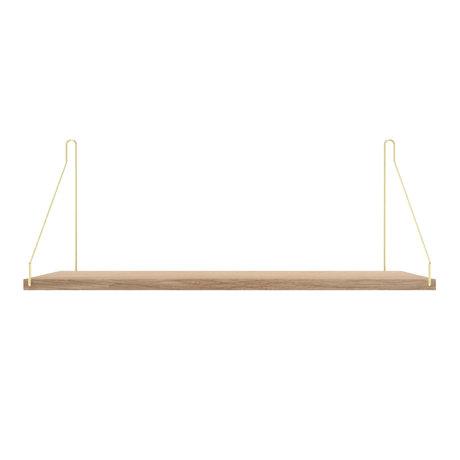 Frama Wandplank Shelf Wit goud hout 27x60x16cm