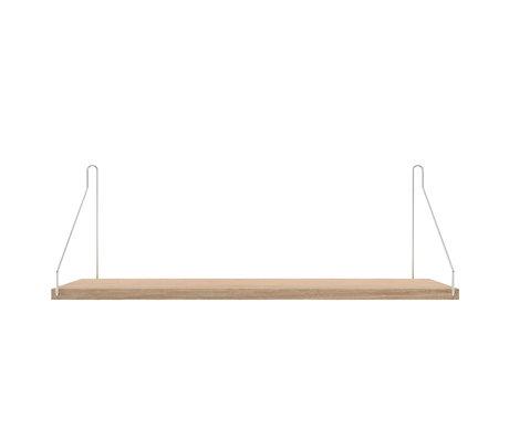 Frama Wandplank Shelf Wit roestvrij staal 20x60x16cm
