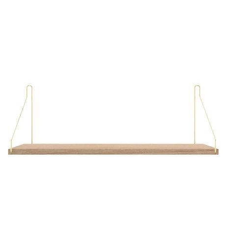 Frama Wandplank Shelf Wit goud hout 20x60x16cm