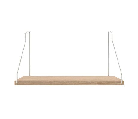 Frama Wandplank Shelf Wit roestvrij staal 20x40x16cm