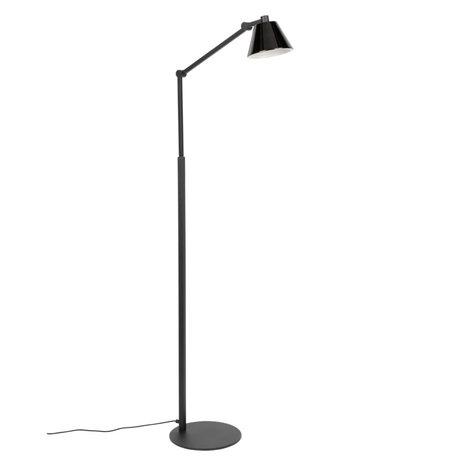 Zuiver Vloerlamp Lub zwart verchroomd ijzer 25x45,5x142,5cm