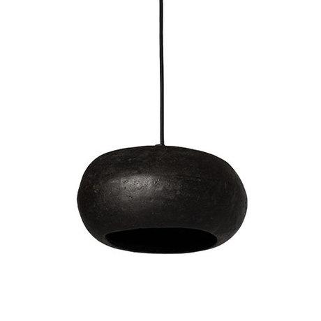 Ay Illuminate Hanglamp Pebble small zwart karton 27x21x17cm