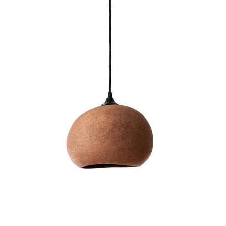 Ay Illuminate Hanglamp Pebble small roestbruin karton 27x21x17cm
