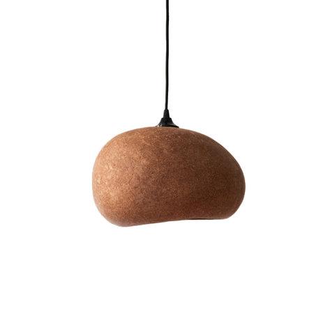 Ay Illuminate Hanglamp Pebble medium roestbruin karton 36x27x19cm