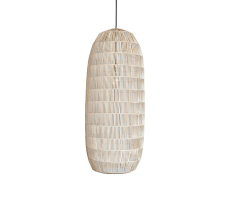 Ay Illuminate Hanglamp Pickle small naturel rotan Ø39X88cm