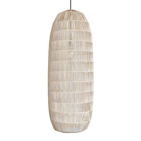 Ay Illuminate Hanglamp Pickle large naturel rotan Ø40x106cm