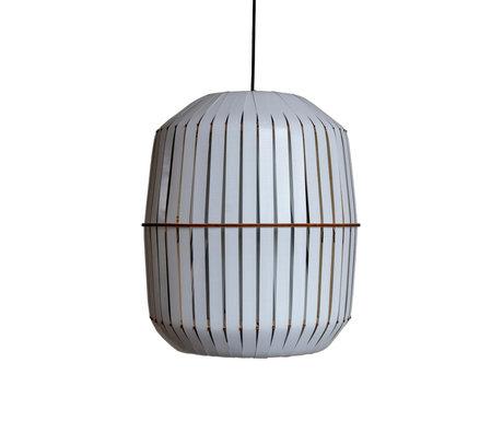 Ay Illuminate Hanglamp Wren medium wit aluminium Ø44x52cm