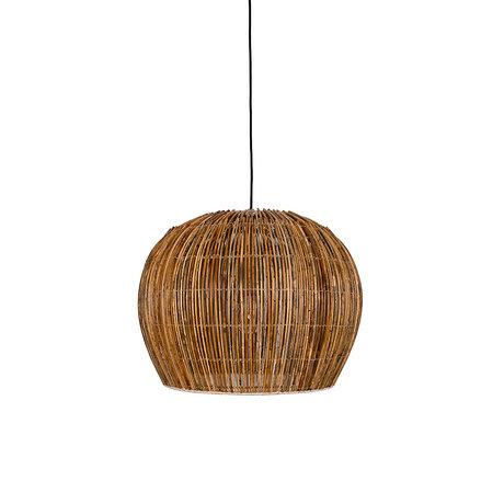 Ay Illuminate Hanglamp Rattan Bell small bruin rotan Ø63x47cm